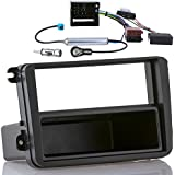Meins24 ohg - Kit de instalación con interfaz CAN-Bus Interface para VW Golf 5 6 Passat EOS SKODA SEAT (carátula de radio+interfaz CAN-Bus/adaptador de radio+adaptador de antena Fakra Phantom)