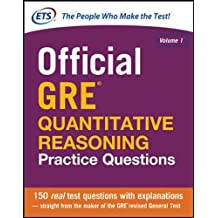 Official GRE Quantitative Reasoning Practice Questions (Test Prep)