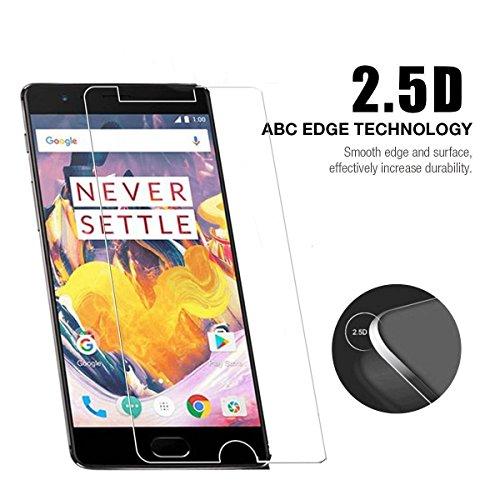 HTC Ocean/HTC U 11/HTC U11 Pellicola Protettiva, [2 Pack] 9H vetro temperato ad alta definizione, antibatteria, bordo rotondo 2.5D (ultra chiaro)