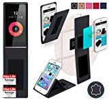 Obi Worldphone SF1 Hülle Cover Case in Schwarz Leder -