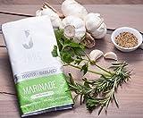 JANS BIO Marinade - KRÄUTER KNOBLAUCH im Zip Beutel - Fleisch, Fisch, Gemüse oder Tofu