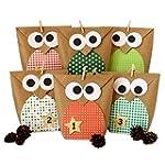 DIY Advent calendar - Christmas owls...