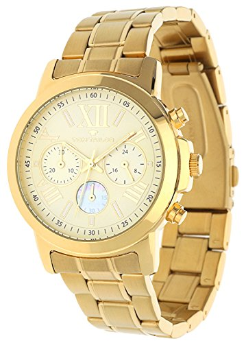 Tom Tailor Femmes Montre Chronograph Or 5416402