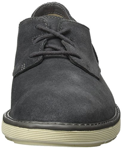 Clarks Fayeman Lace, Chaussures À Lacets Pour Homme Grey (dark Grey Sde)
