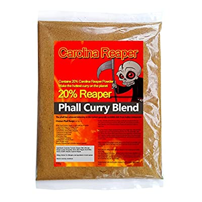 Carolina Reaper Curry Powder Mix. Warning this is Hot. 100g - Recipe included by Chilli Wizards
