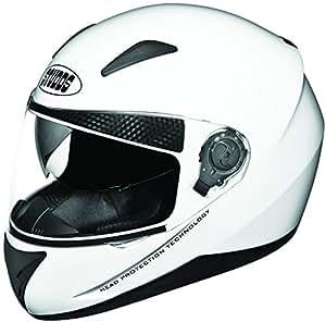 Studds Shifter Full Face Helmet (White, L)