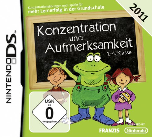 Konzentration und Aufmerksamkeit 1.-4. Kl. 2011