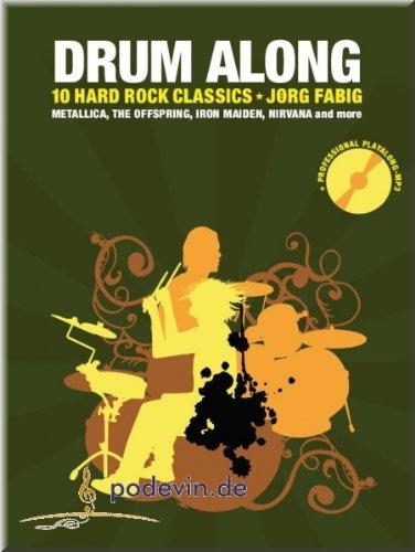 Drum Along V - 10 Hard Rock Classics - Schlagzeugnoten [Musiknoten]