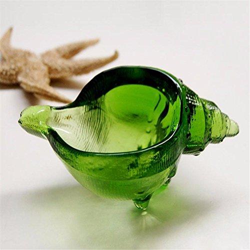 Farbe Cartier Conch Modellierung Glas Aschenbecher Aschenbecher Home möbel (Holz Cartier)