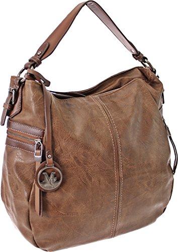 Damen Handtasche Sommertasche Tasche Damen Tasche Handtasche Tragetasche Schultertasche Weekender (Brown) Coffee
