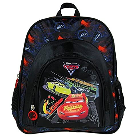 Maxi&Mini - CARS FLASH McQUEEN SAC A DOS JUNIOR POUR LE SP0RT, LOISIRS SORTE EN PLEIN AIR CARTABLE ECOLE MATERNELLE