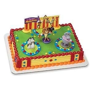 Decopac Madagascar 3 Three Ring Circus DecoSet Cake Topper