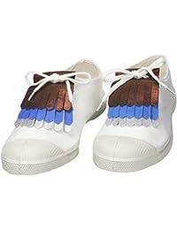 Triplettes Shoe Decoration Charms, Multicolour (or Dor /jaune/mari), One Size Bensimon
