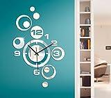 Wandtattoo-Günstig G004 Moderne Wanduhr Spiegel Design