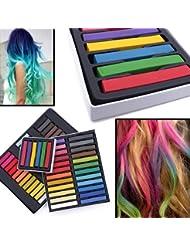 Wholesale Solutions–Cheveux Craie temporaire Kit Coloration semi-permanente pour cheveux Couleur