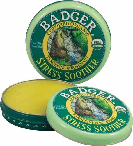 Kopfschmerzen Beruhigungssauger, Pfefferminz Lavendel, 0,60 Unzen (17 g) - Badger Company - Anzahl 1 -