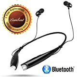 #10: supreno™ Hbs 730 Wireless Bluetooth Mobile Phone Headphone Earpod Sport Earphone with Calling Functions Compatible with All Android and iOS Devices(One Year Warranty, Assorted Colour)