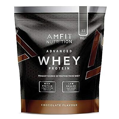Amazon Brand- Amfit Nutrition - Advanced Whey Protein Powder