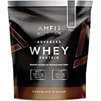 Marque Amazon - Amfit Nutrition Advanced Whey protéine de lactosérum saveur chocolat, 32 portions  990 g