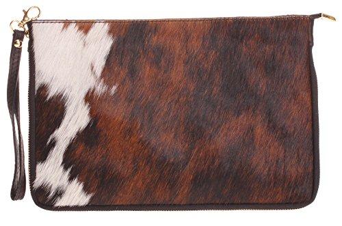 Big Handbag Shop, Borsetta da polso donna One Pony - Design 6