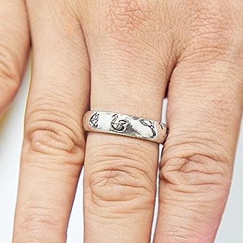 Rune Amulette Ring, Bague, Bague de protection Talisman, film, Props Ring, accessoires de jeu
