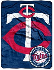 Au nord-ouest 1MLB-05900-0017-RET Triple Play - Twins MLB Micro Rachel Throw