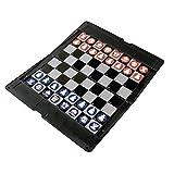 Schach Reisespiel mit Magnetfiguren - Reisespiel Brettspiel Denken