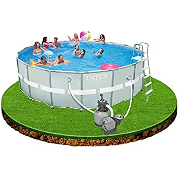 Intex 12-54956 Ultra Rondo II Frame Pool Set, 549 x 132 cm