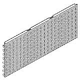 4 STÜCK Tegometall Lochwand Schlüssellochung L 100 H 40 Tego juraweiss 13429324