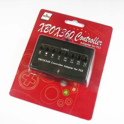 Controller Turbo 360 Xbox (XBOX 360 Controller Adapter fr PS3)