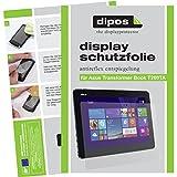 dipos ASUS Transformer Book T200TA Schutzfolie (2 Stück) - Antireflex Premium Folie matt