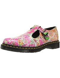 Dr Martens Women's Polley Daze Backhand Leather Shoe Multi-Multi-7 Size 7