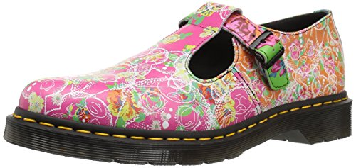 Dr Martens Women's Polley Daze Backhand Leather Shoe Multi Size 4