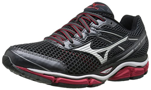 Mizuno Wave Enigma 5 Synthétique Chaussure de Course Grey-White-Red