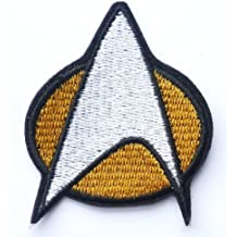 Star Trek Federation Starfleet Iron on Sew on Embroidered Badge Applique Motif Patch From PatchWOW