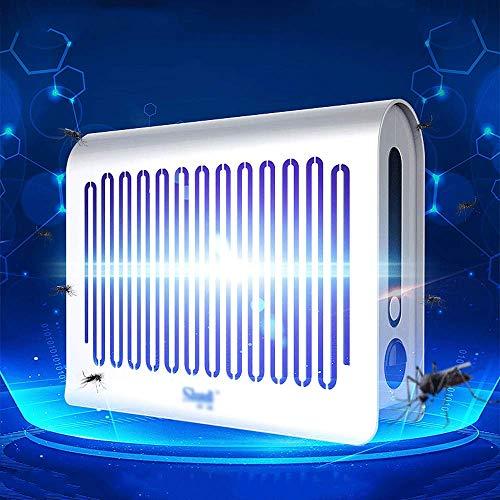 TUNBG Zanzariere LED, Killer Anti-Insetto Elettrico, 100m2 Ampia Copertura Camera, Uso Domestico o Commerciale Stand-Alone o Parete, Alternativa Swatter Fly 28.9x5x25cm