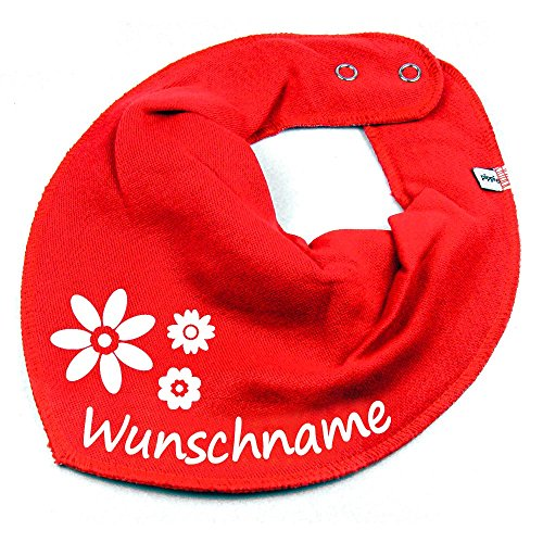 Namen oder Text personalisiert rot für Baby oder Kind (Rot Personalisierte Geschenke)