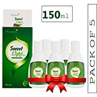 Nectarea Sweet Light Drops 150 ml Zero Calorie Sugar Free Liquid Sweetener - Pack of 5 (3000 Drops)