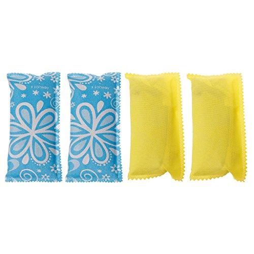 2Pc Schuhe Deodorant Bag Carbon Geruch Eliminator Bambuskohle Luftreiniger -