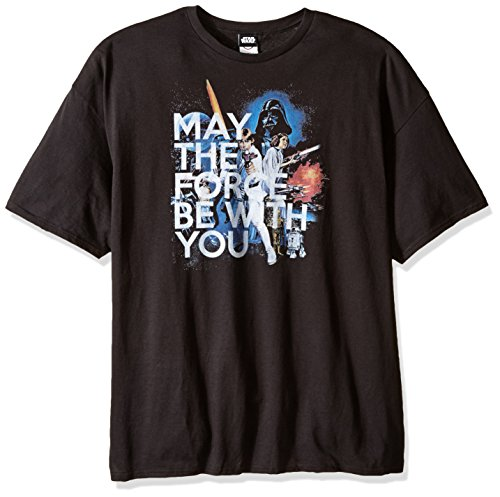 Star Wars Herren T-Shirt Classic - Schwarz - 5X-Groß (Star Wars-t-shirts Classic)