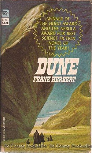 Book cover for Dune