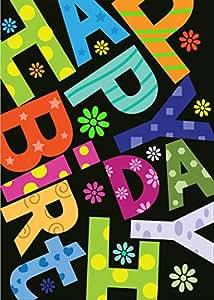 Trendy. carte d'anniversaire