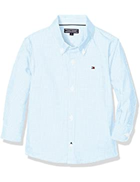 Tommy Hilfiger Mini Gingham Shirt L/S, Blusa para Niños
