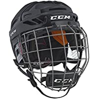 CCM Resistance Helmet Combo - Red L