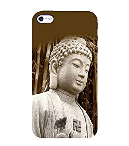 printtech Lord God Buddha Back Case Cover for Apple iPhone 4S