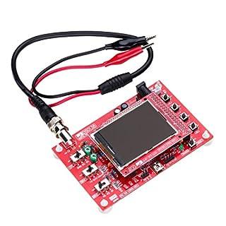 Aexit Asm138 Tondeuses et outillage de jardin motorisé 2.4 pouces Écran Affichage TFT DIY Kit Oscilloscope numérique avec Groupes éléctrogènes et énergies câble sonde