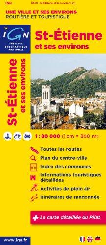 88411 Saint-Etienne et Ses Environs 1/80.000