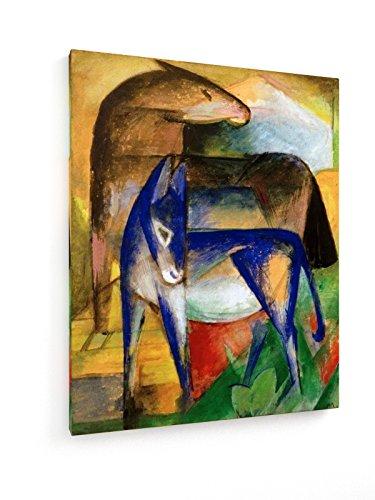 marc-dos-burros-azules-60x75-cm-weewado-impresiones-sobre-lienzo-muro-de-arte-antiguos-maestros