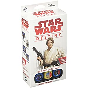 Fantasy Flight Games ffgswd10 Juego de Star Wars Luke Skywalker Destino Starter Set