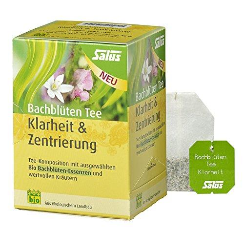 Salus Bachblüten Tee Klarheit & Zentrierung BIO, 15 Filterbeutel
